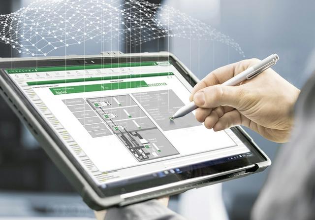 Digitalisierung - Zustandsüberwachung von Maschinen (000AE408)