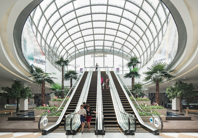 Vincom Mega Mall in Vietnam