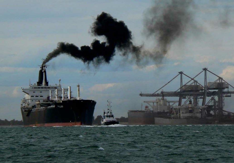 United Nations agrees to halve shipping emissions by 2050""