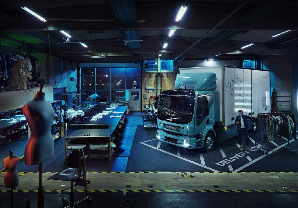 Volvo Trucks develops fully-electric model