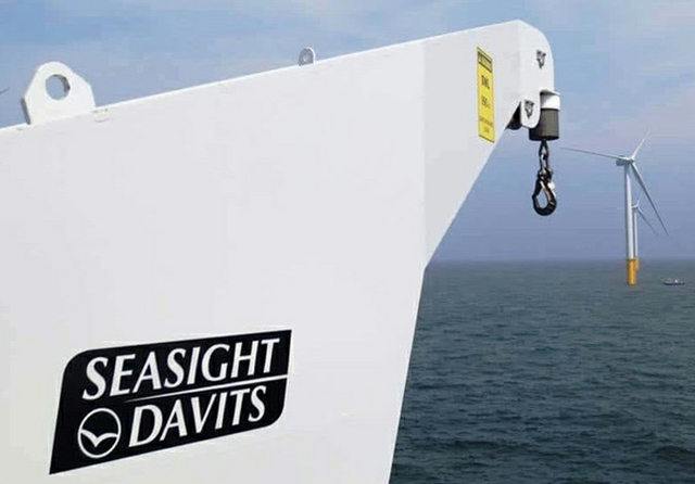 davit crane credit seasight davis