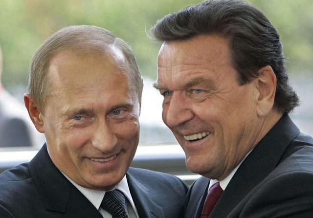 Putin Schroeder Nord Stream 2