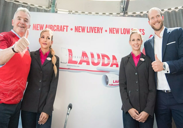 Ryanair gets final stake in Laudamotion