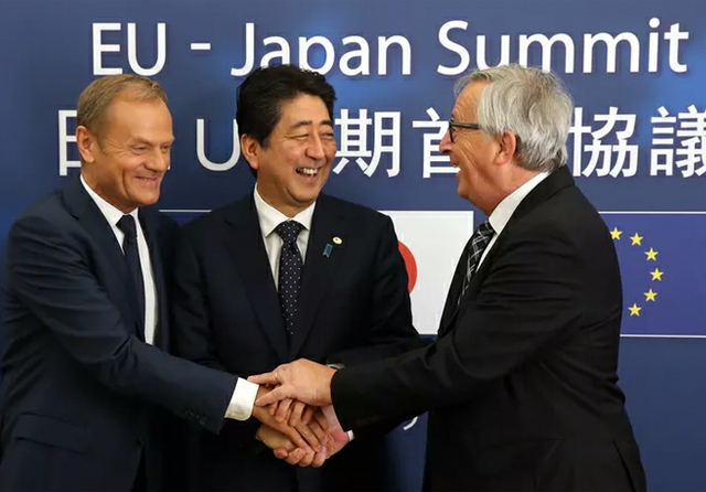 Japan EU trade agreement