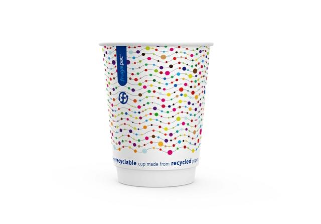 Frugal Cup 12oz dotty