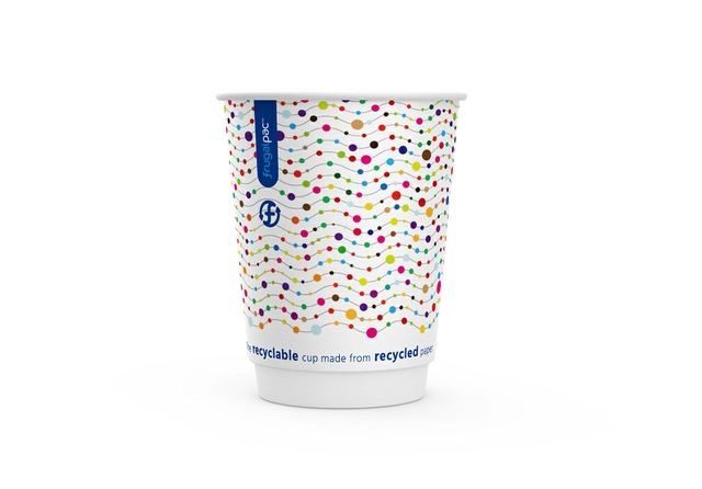 Frugal Cup 12oz dotty