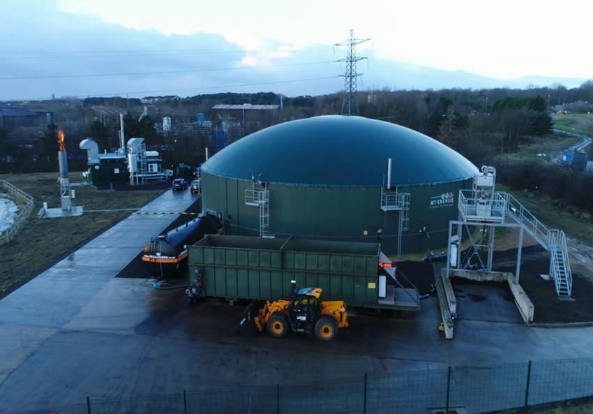 Generation X biogas plant