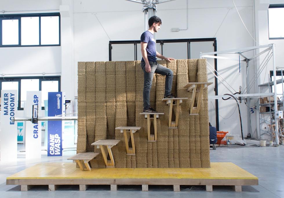 IAAC WASP 3D wall