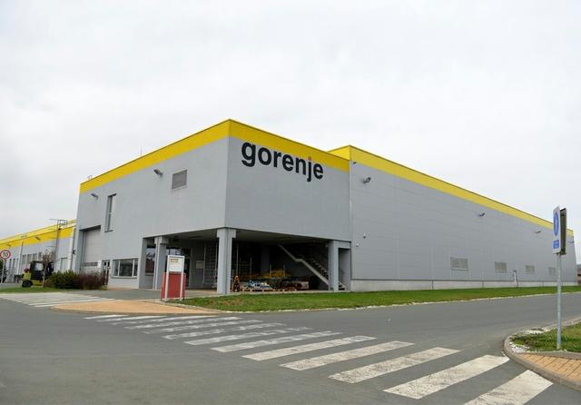 Gorenje plant in Valjevo, Serbia