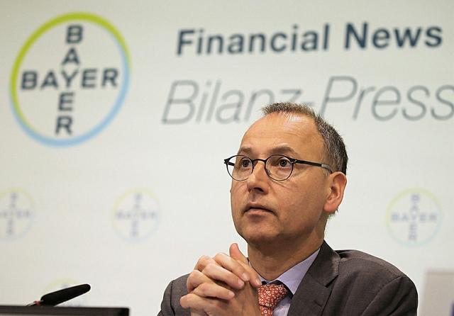 Bayer CEO, Werner Baumann