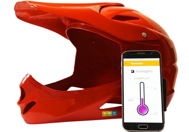 IPC intelligent motorcycle helmet