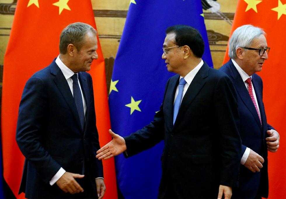 Chinese Premier Li Keqiang in Europe