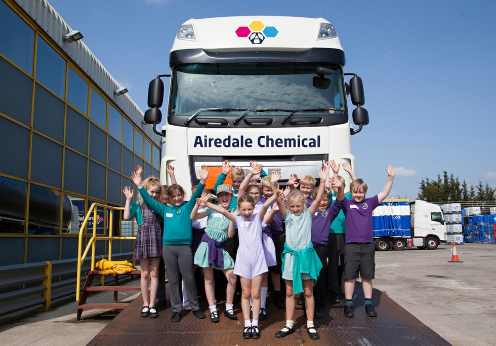 Airedale school visit