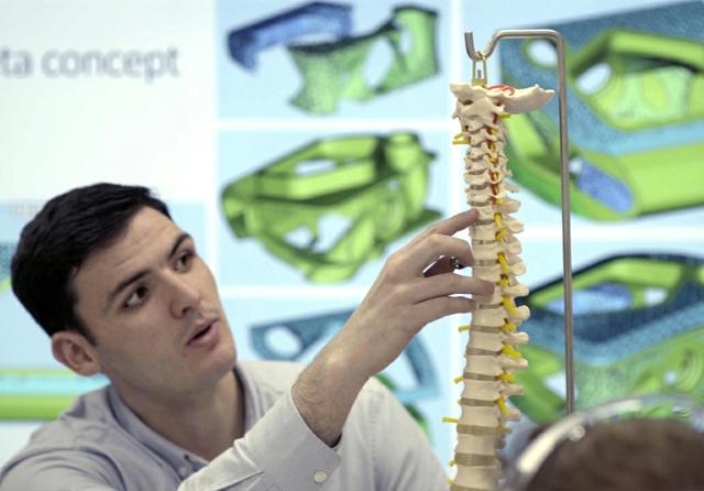 Renishaw spinal implants