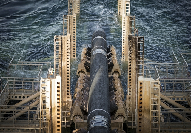 Nord Stream 2 installation