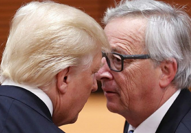 Trump and Juncker