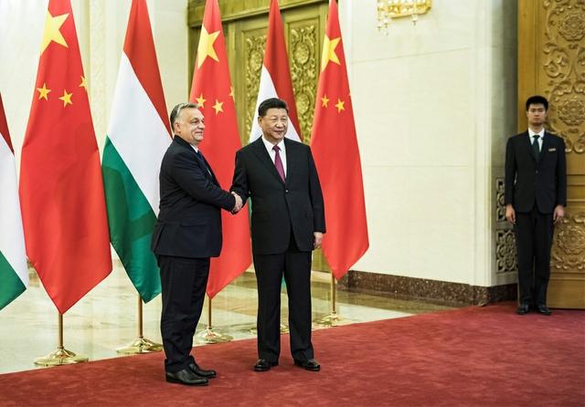 Viktor Orbán & Xi Jinping