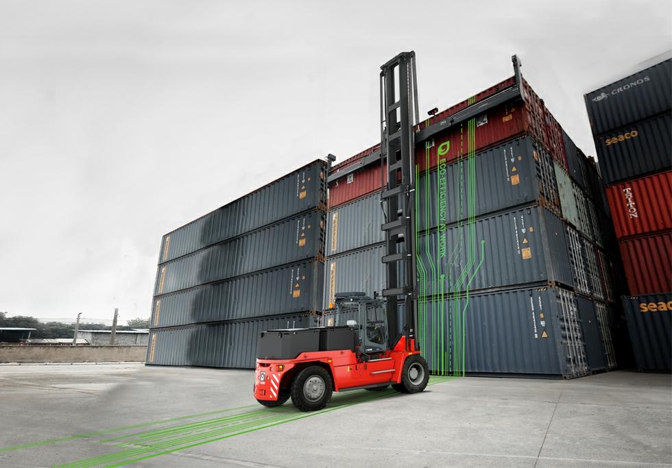 Kalmar Electric Empty Container Handler