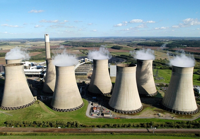 Fiddlers Ferry coal power station