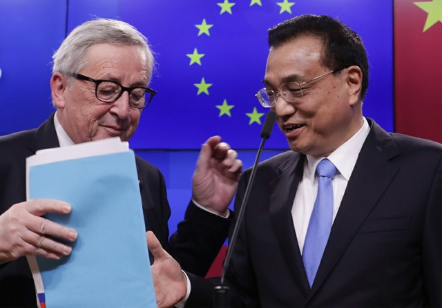 Juncker Keqiang