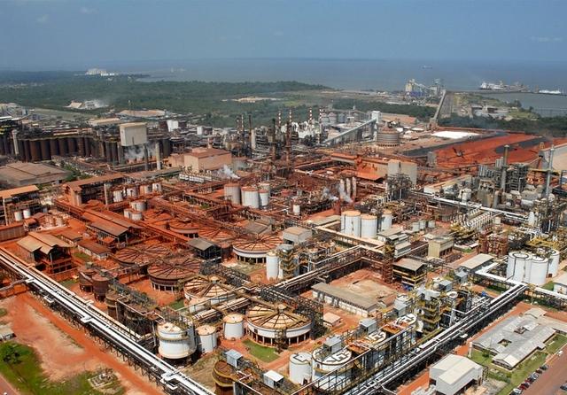 Alunorte alumina refinery, Brazil