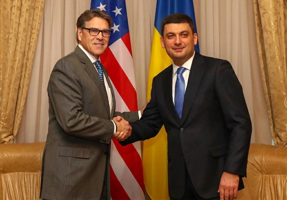Rick Perry in Ukraine