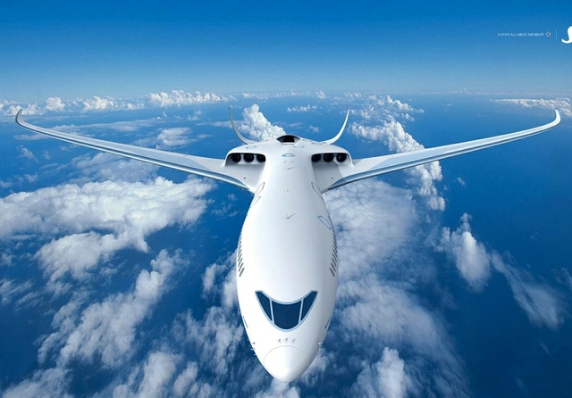 SAS Airbus electric hybrid plane