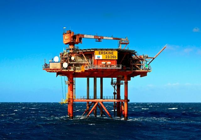 Erskine offshore platform
