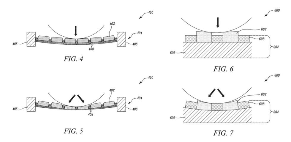 Tesla fabric patent