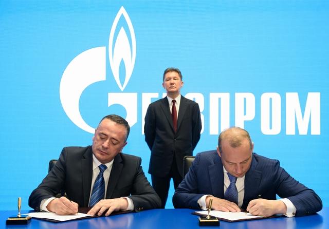 Gazprom in Serbia