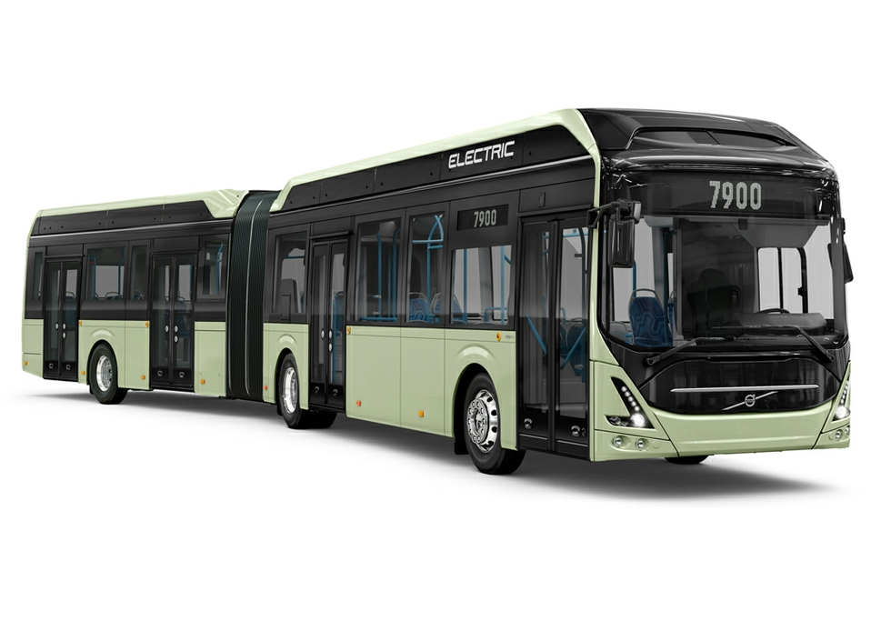 Volvo all-electric bus