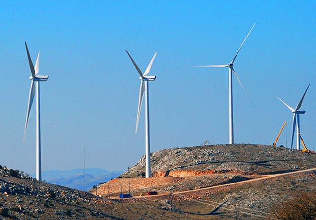 Greek wind power