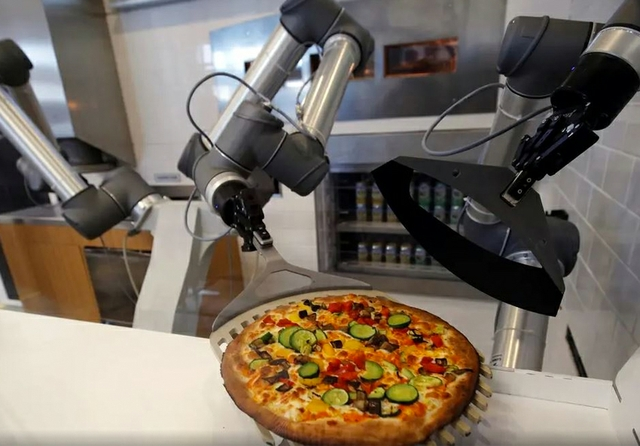 Pizza robot