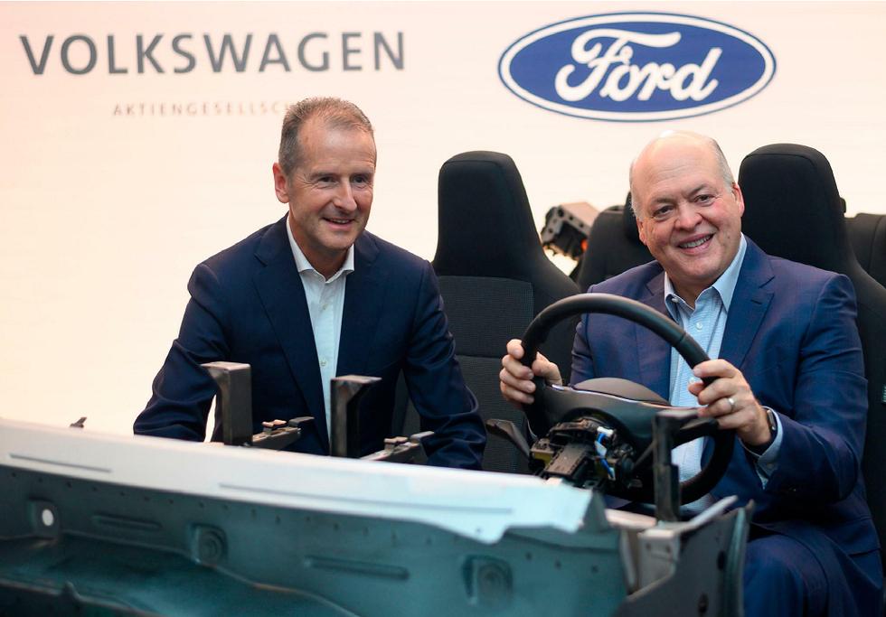 Ford & VW CEOs