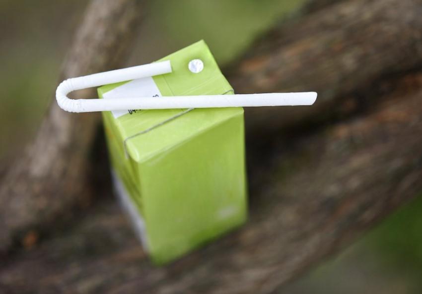 U-Bend paper straw