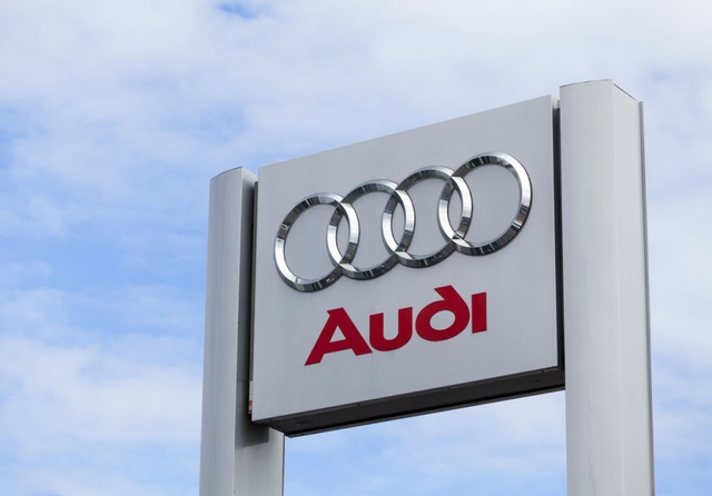 Audi sign. Credit: tomeng / Getty Images
