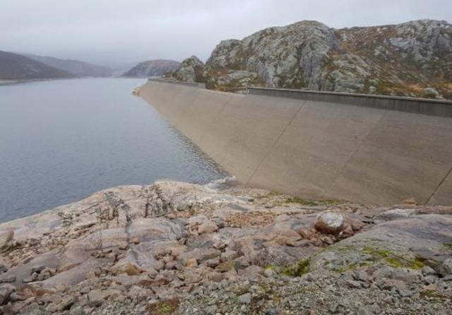 Kuli Dam, Norway