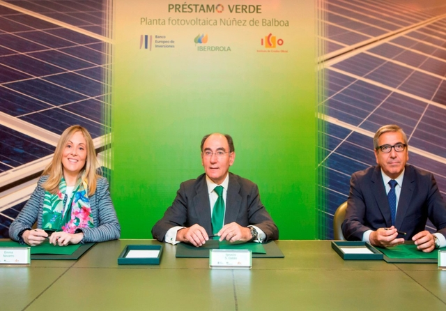 Iberdrola receives funding
