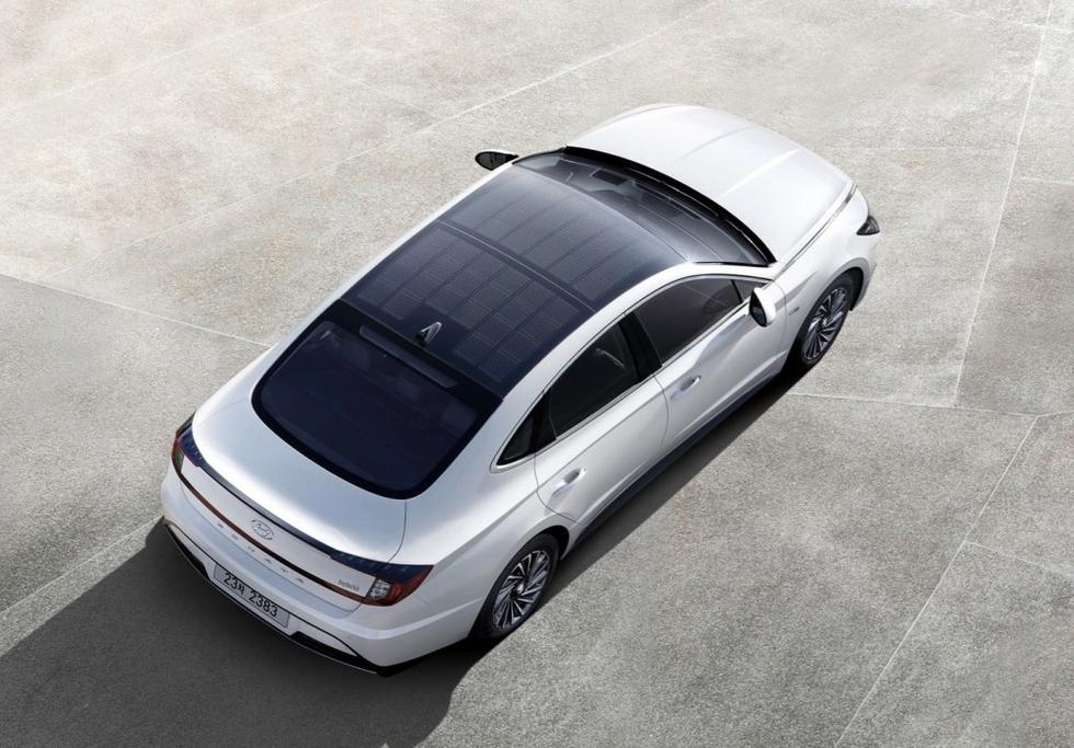 Hyundai New Sonata Hybrid