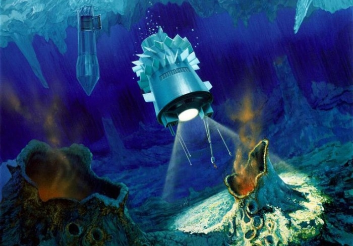 The effect of the robot boom - subsea