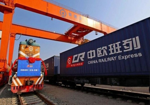 Chinese cargo train