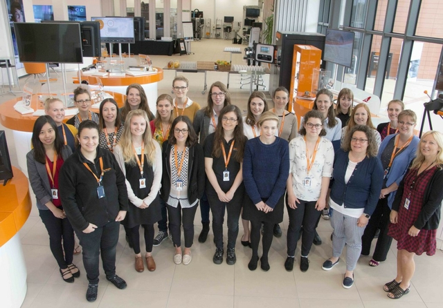 Female STEM ambassadors