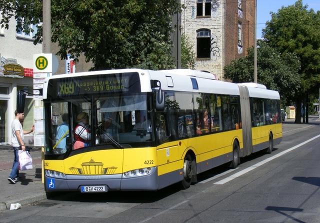 Solaris Urbino bus Berlin