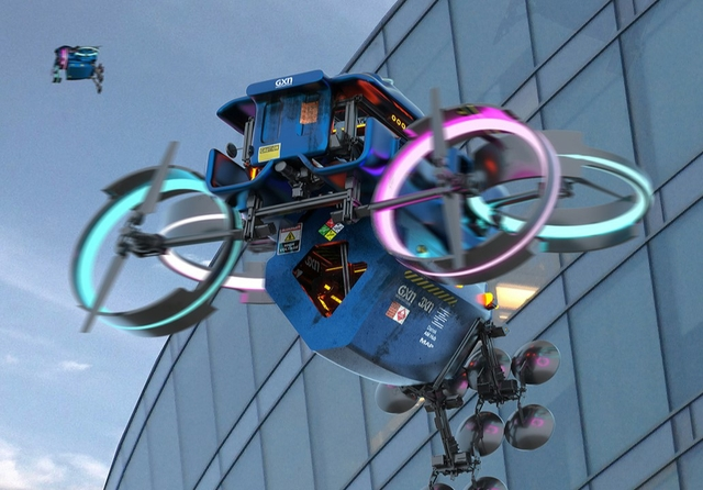 GXN 3D printing drones
