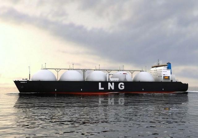US LNG tanker