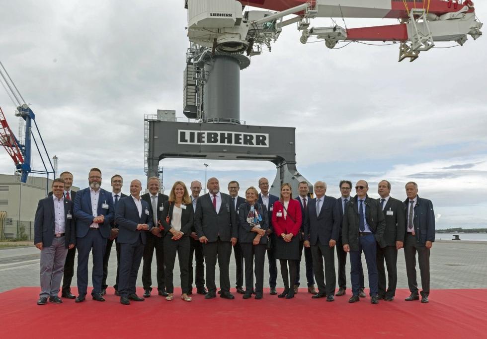 Liebherr TCC 78000 inauguration