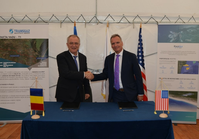 Transgaz & BSOG to proceed with Romanian gas delivery project