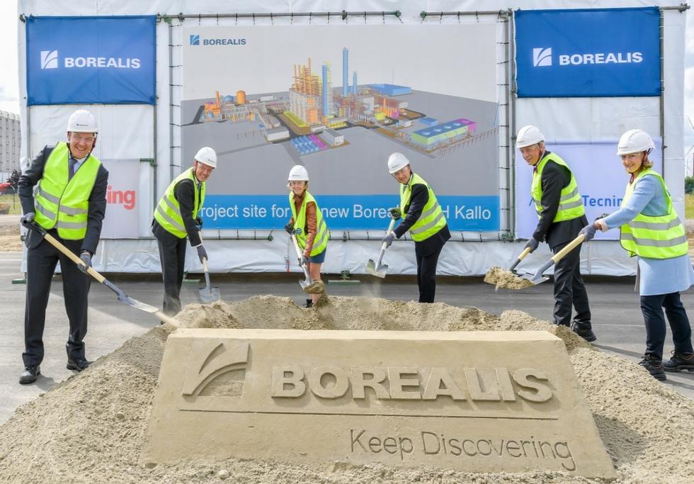 "Borealis breaks ground on new ""world-scale"" plant in Belgium"