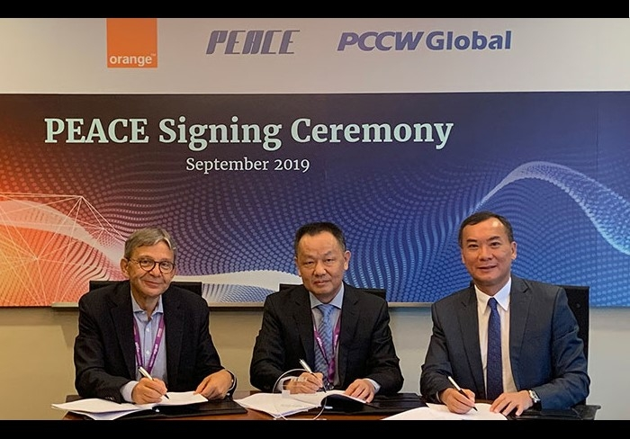 Orange, PCCW Global & PEACE Cable partner for a new submarine cable