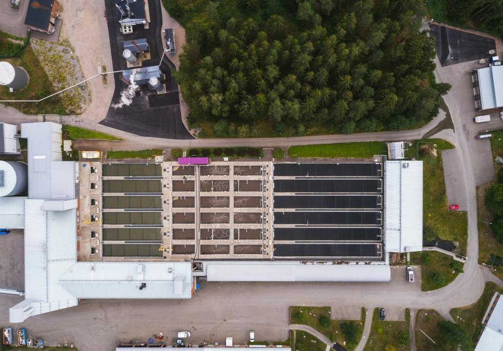 Växjö water treatment plant